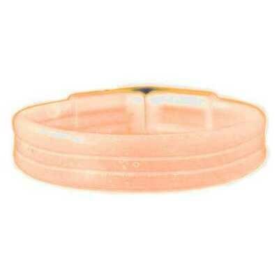 Wide Glow Stick 8 Inch Bracelet Orange Pack of 30