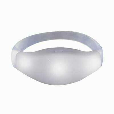 Sound Activated White LED Bracelet