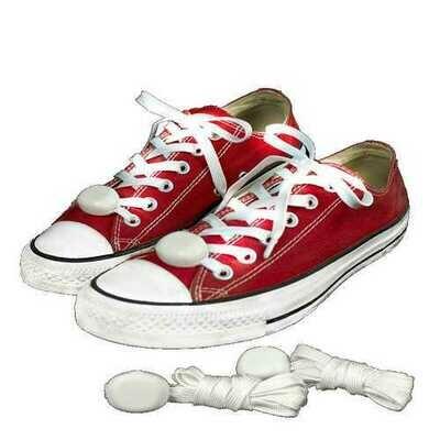 LED Shoelaces White