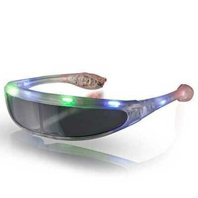 Futuristic LED Sunglasses Multicolor Premium