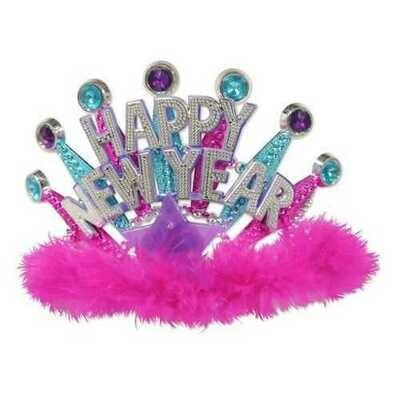Happy New Year LED Tiara