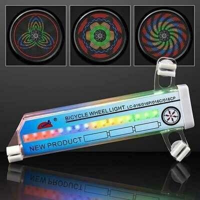 LED Kaleidoscope Bike Tire Lights