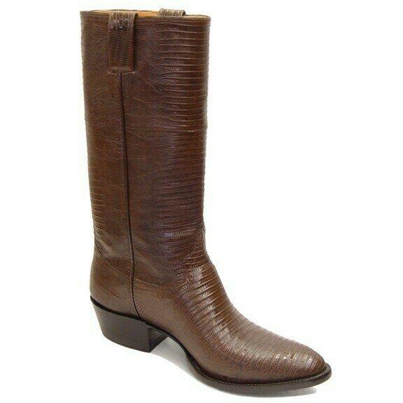 Top & Bottom Teju Lizard (19 Colors) Cowboy Boots