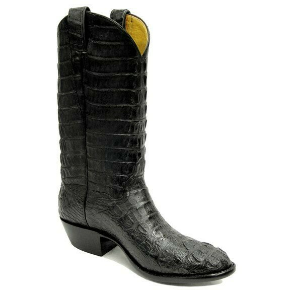 Top & Bottom Caiman Crocodile (11 Colors) Cowboy Boots