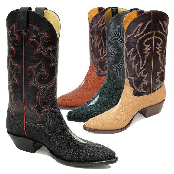 Stingray (14 Colors) Cowboy Boots