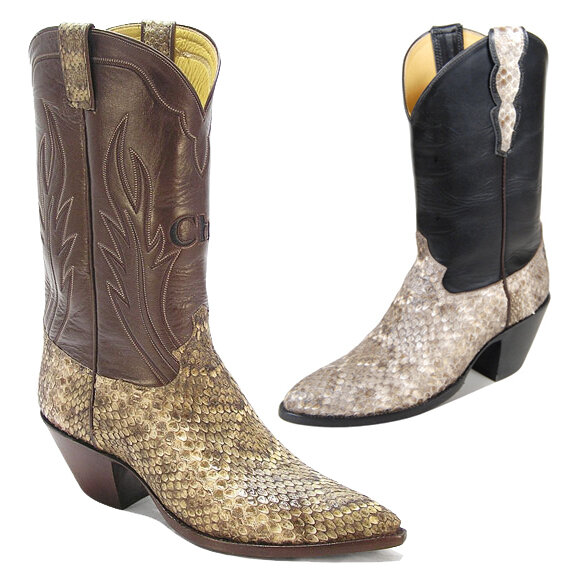 Rattlesnake - Limited Edition Cowboy Boots