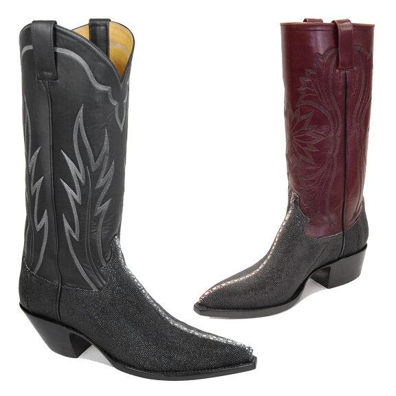 Multi-Spine Stingray Cowboy Boots