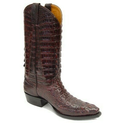 Top & Bottom Nile Hornback Crocodile ( 5 Colors) Cowboy Boots