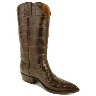 Top & Bottom Smooth Nile Crocodile (15 Colors) Cowboy Boots