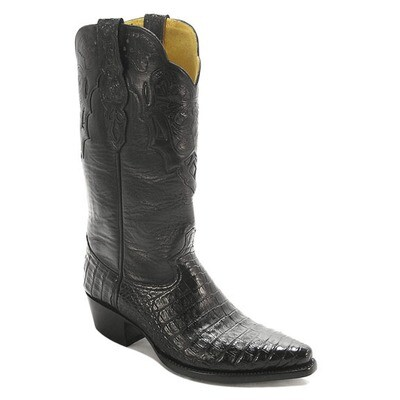 Barcelona Smooth Caiman Crocodile (9 Colors) Cowboy Boots