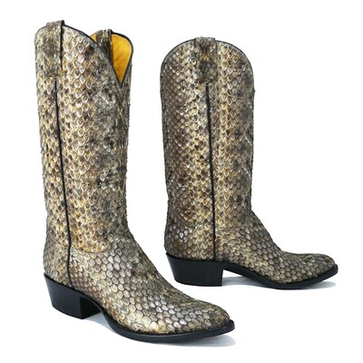 Top & Bottom Rattlesnake - Limited Edition Cowboy Boots
