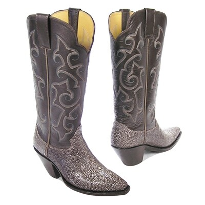 Polished Stingray Cowboy Boots