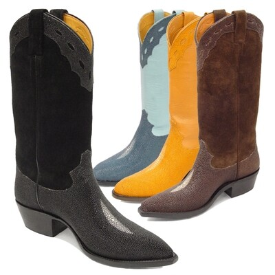 Morganstein Stingray (14 Colors) Cowboy Boots
