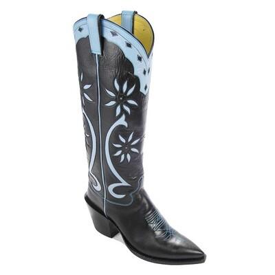 Sand Dollar Cowboy Boots