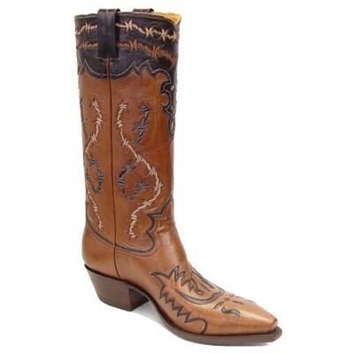 Barbwire Cowboy Boots