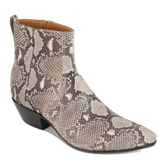 Python Back Ankle Boots