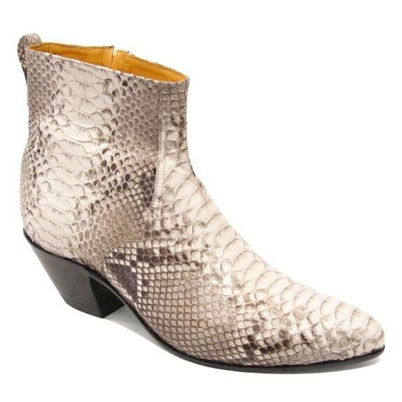Python Belly (10 Colors) Ankle Boots