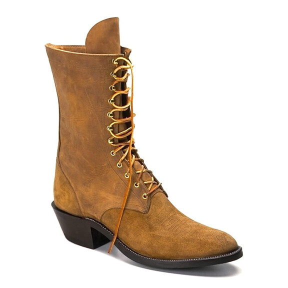 Lace-Up Packer Work Boots