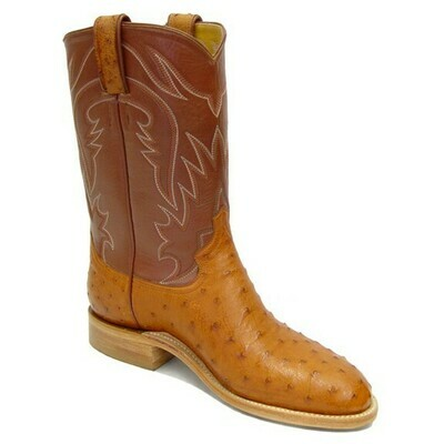 Full Quill Ostrich Roper Boots (18 COLORS)
