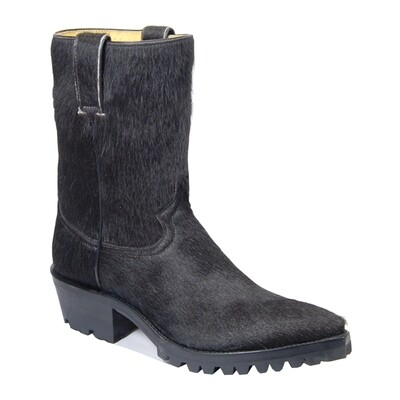Angus Hair-On Motorcycle Boots