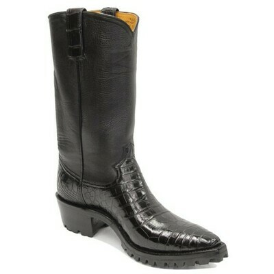 Smooth Nile Crocodile (15 Colors) Motorcycle Boots