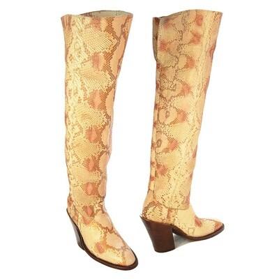 Camick Thigh High Cowboy Boots