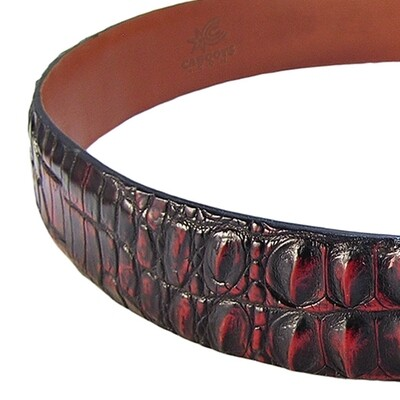 Hell Razor Hornback Nile Crocodile Belt