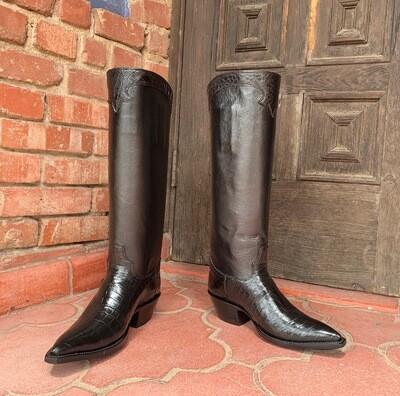 Clarita Alligator Cowboy Boots