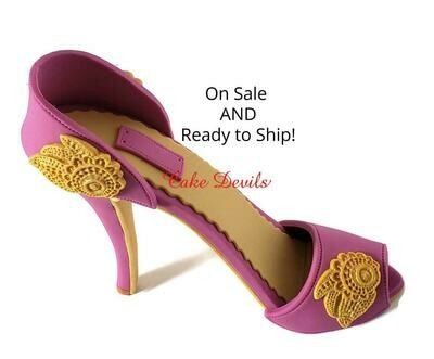 High Heel Cake Topper, ON SALE and READY TO SHIP