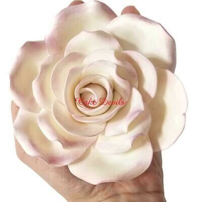 Large Gumpaste Rose Flower Cake Topper