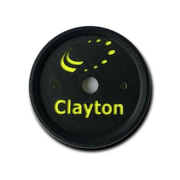 Clayton 3D Wheel Coaster