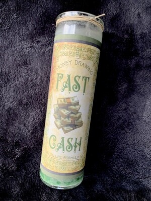 Fast Cash Fixed Conjure Candle