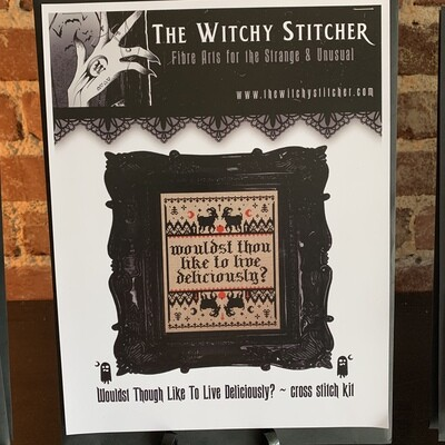 Black Phillip Cross Stitch Kit