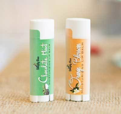 Soothing Lip Balm - 6 Pack of Chocolate Mint