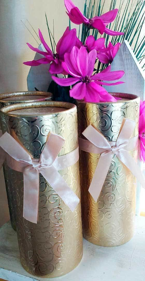 Gift Tube - 3 jars of Infused or Creamed honey