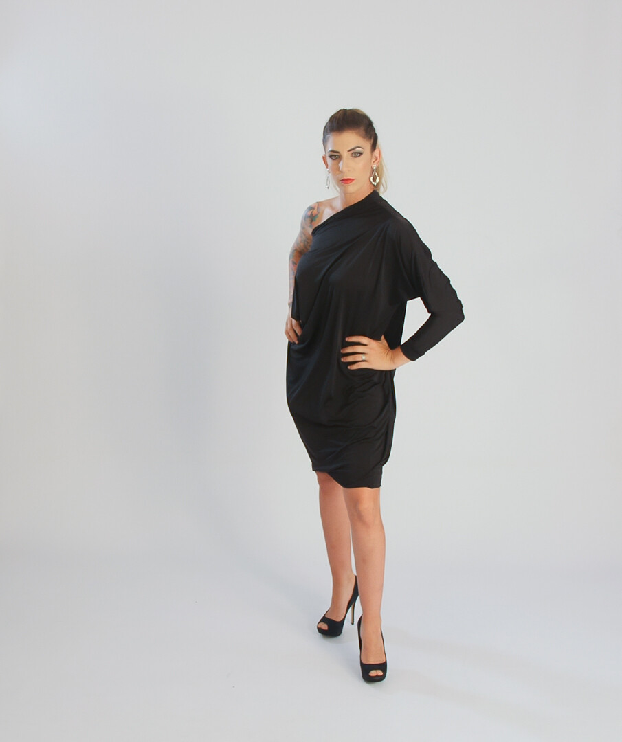 FlexiFab Dress Black