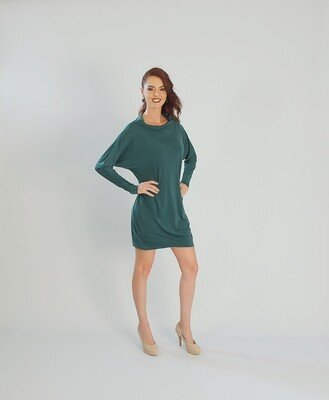 FlexiFab Dress Forest Green