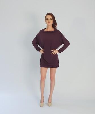 FlexiFab Dress Plum Purple