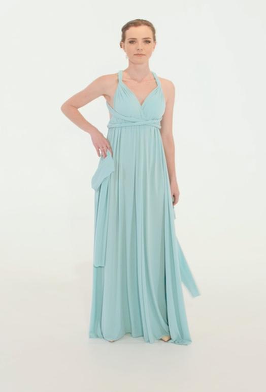 Wrap Dress - Black Friday - Baby Blue (Min 4 Pcs at R399 each)
