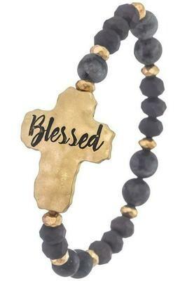 Blessed Semi Precious Stone Bracelet