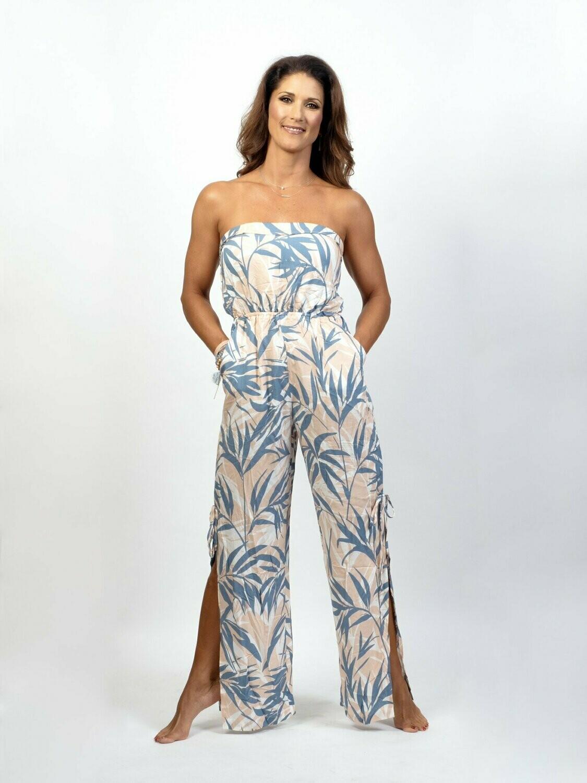 Blush Tropical Jumpsuit