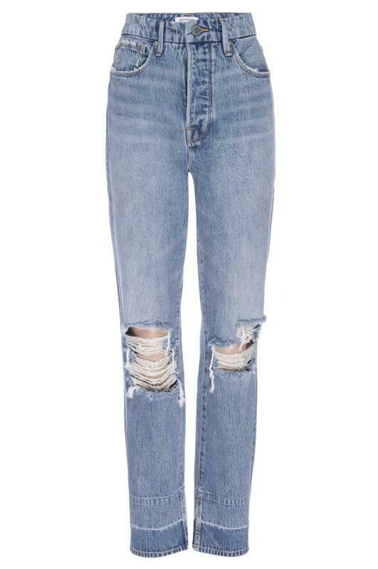 "Good Waist ""Mom Jeans"" - Distressed"
