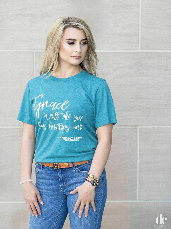 Grace W;ll Take You Movement Tee