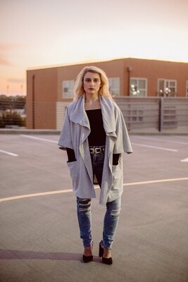 The Loft Fleece Oversize Cardigan