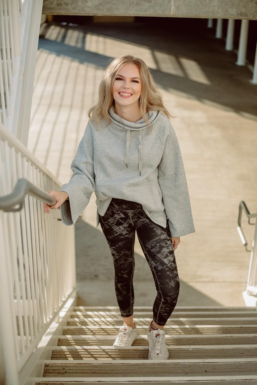 The Jordyn Loft Fleece Pullover
