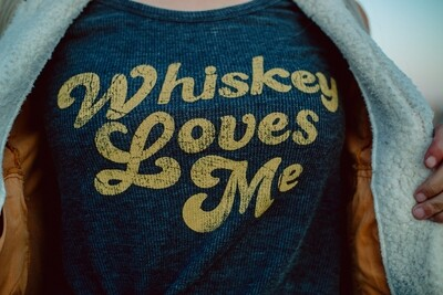 Whiskey Loves Me Top