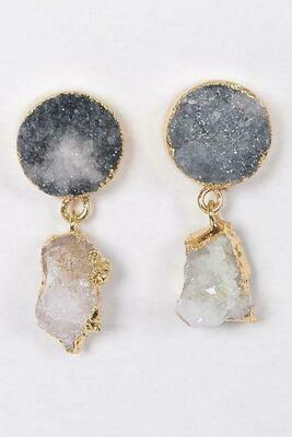 Your Druzy Stone Earrings