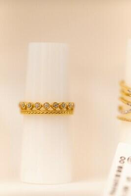 Ladies Crown Ring