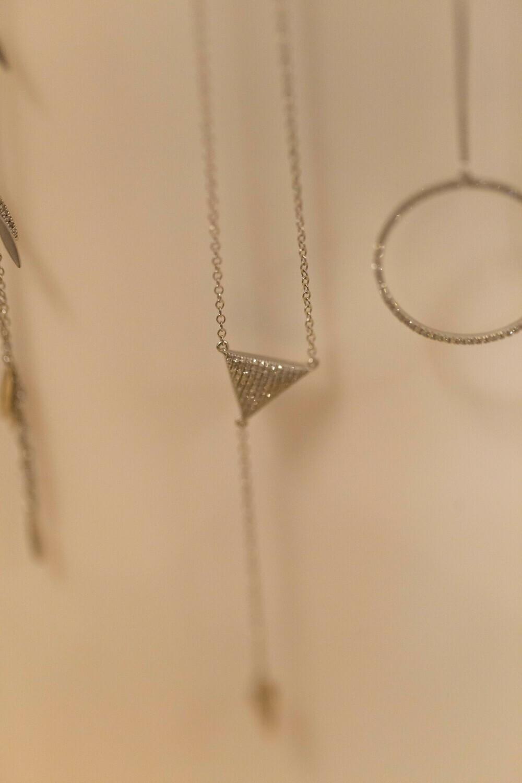 Clock It Necklace