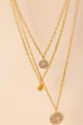 Right Around Diamond Necklace